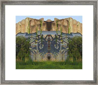 Cube Paintings Framed Print by Michele Caporaso