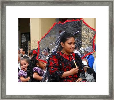 Cuenca Kids 45 Framed Print by Al Bourassa