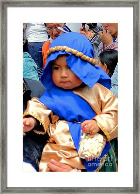 Cuenca Kids 50 Framed Print by Al Bourassa