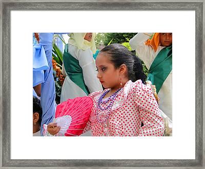 Cuenca Kids 74 Framed Print by Al Bourassa
