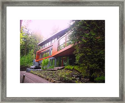 Cullen House Aka Hoke House Framed Print by Kelly Manning