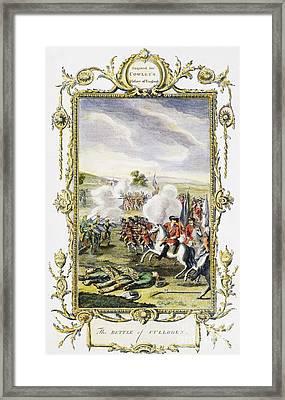Culloden Battle, 1746 Framed Print by Granger