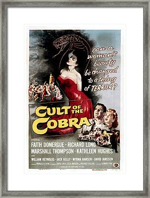 Cult Of The Cobra, Marshall Thompson Framed Print by Everett