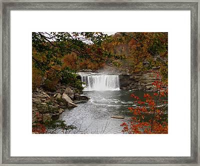 Cumberland Falls 2 Framed Print