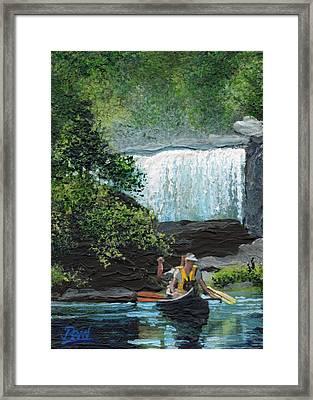 Cumberland Falls Framed Print by Bill Brown