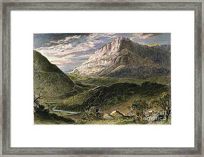 Cumberland Gap, 1872 Framed Print by Granger