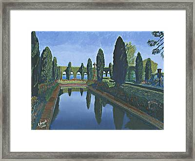 Cummer Museum And Gardens Framed Print by Eduardo Marquez