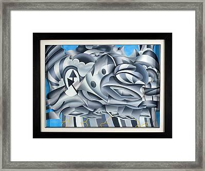 Cumulonimbus Framed Print by Jason Amatangelo