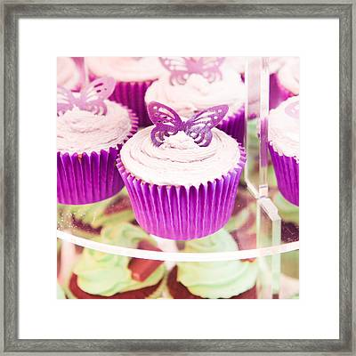 Cup Cakes Framed Print by Tom Gowanlock