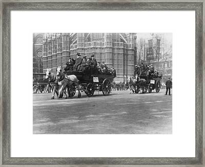 Cup Final Tourists Framed Print by Hulton Collection