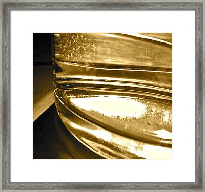 Framed Print featuring the photograph cup IV by Bill Owen