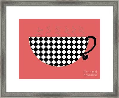 Cup O Joe Framed Print by Jeannie Atwater Jordan Allen