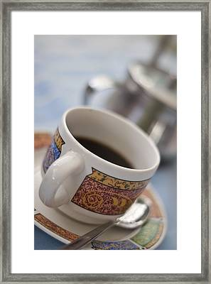 Cup Of Coffee Framed Print by David DuChemin
