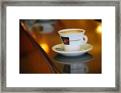 Cup Of Italy Framed Print