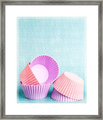 Cupcake Framed Print by Edward Fielding