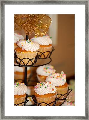 Cupcakes Anyone Framed Print by Melissa Haley