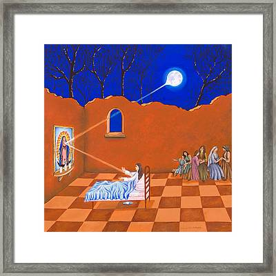 Curandera Framed Print by James Roderick
