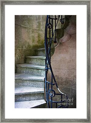 Curly Stairway Framed Print by Carlos Caetano