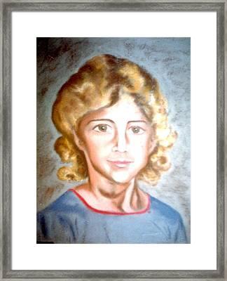 Curlyhead Framed Print