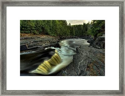 Current River Falls Framed Print by Jakub Sisak