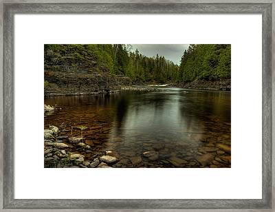 Current River I Framed Print by Jakub Sisak
