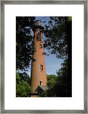 Currituck Beach Lighthouse Framed Print