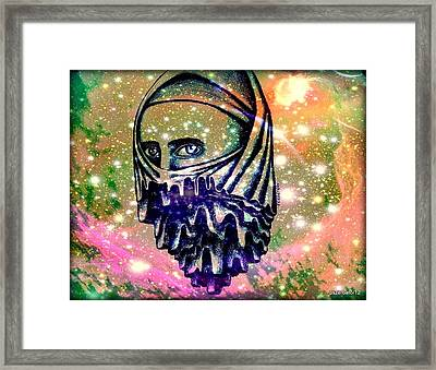 Curtain Interposed Between The Body And The Soul Framed Print by Paulo Zerbato