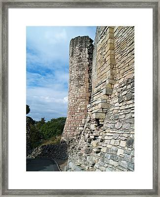 Curtain Wall Framed Print