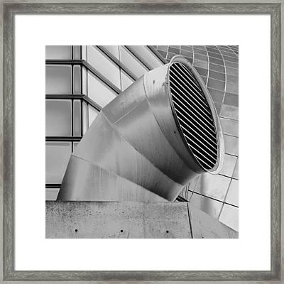 Curved Lines Framed Print