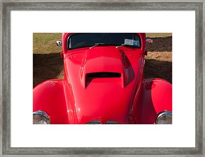 Curves Framed Print by Guy Whiteley