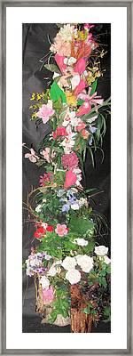 Custom Arrangement 11ft Framed Print by HollyWood Creation By linda zanini