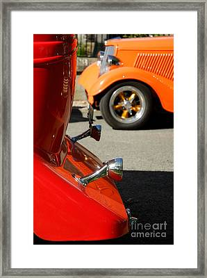 Custom Ford Motor Cars Abstract Framed Print by John Kelly