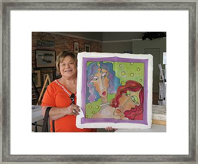 Custom Work Framed Print by Yvonne Feavearyear