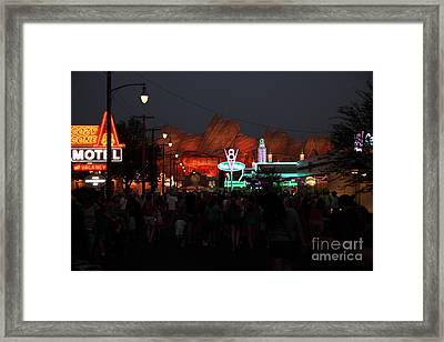 Customers . We Have Customers At Radiator Spring - 5d17762 Framed Print