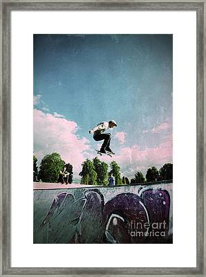 Cut Above The Rest Framed Print