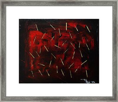 Cut Deep Framed Print by Terrance Prysiazniuk
