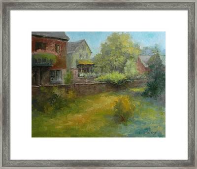 Cuttalossa Farm Framed Print by Kit Dalton