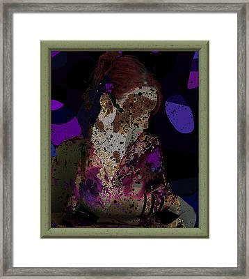 cybergeisha II Framed Print by Adam Kissel