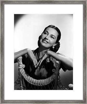 Cyd Charisse, 1952 Framed Print by Everett