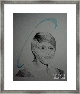 Cyndi Framed Print
