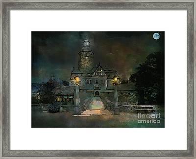 Czocha Castle  Framed Print by Andrzej Szczerski