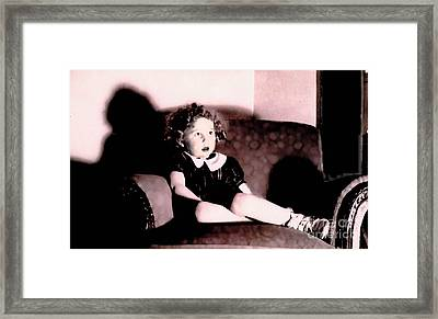 Framed Print featuring the photograph Daddy's Chair by David Klaboe