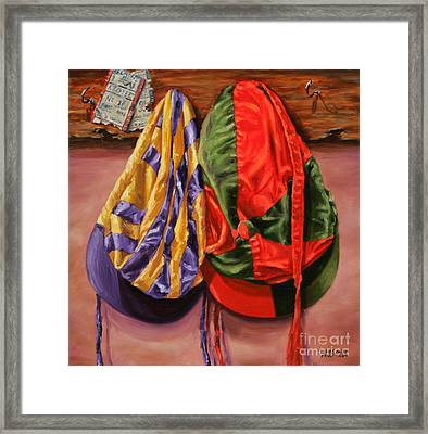 Daily Double Framed Print by Thomas Allen Pauly