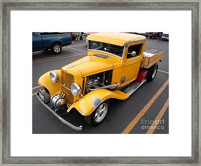 Daily Driver Framed Print