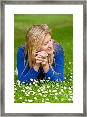 Daisy Daydream Framed Print by David Lade