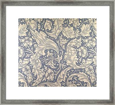 Daisy Design Framed Print by William Morris