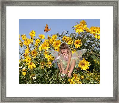 Daisy Faery Framed Print