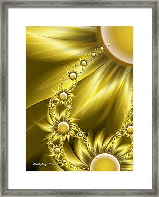 Daisy Sunshine Framed Print