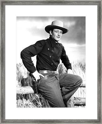Dakota, John Wayne, 1945 Framed Print