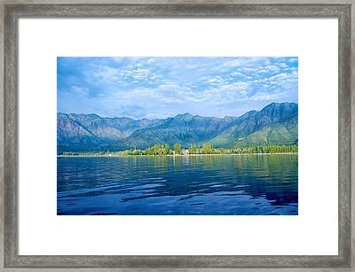 Dal Lake Framed Print by Clicked By Aalok
